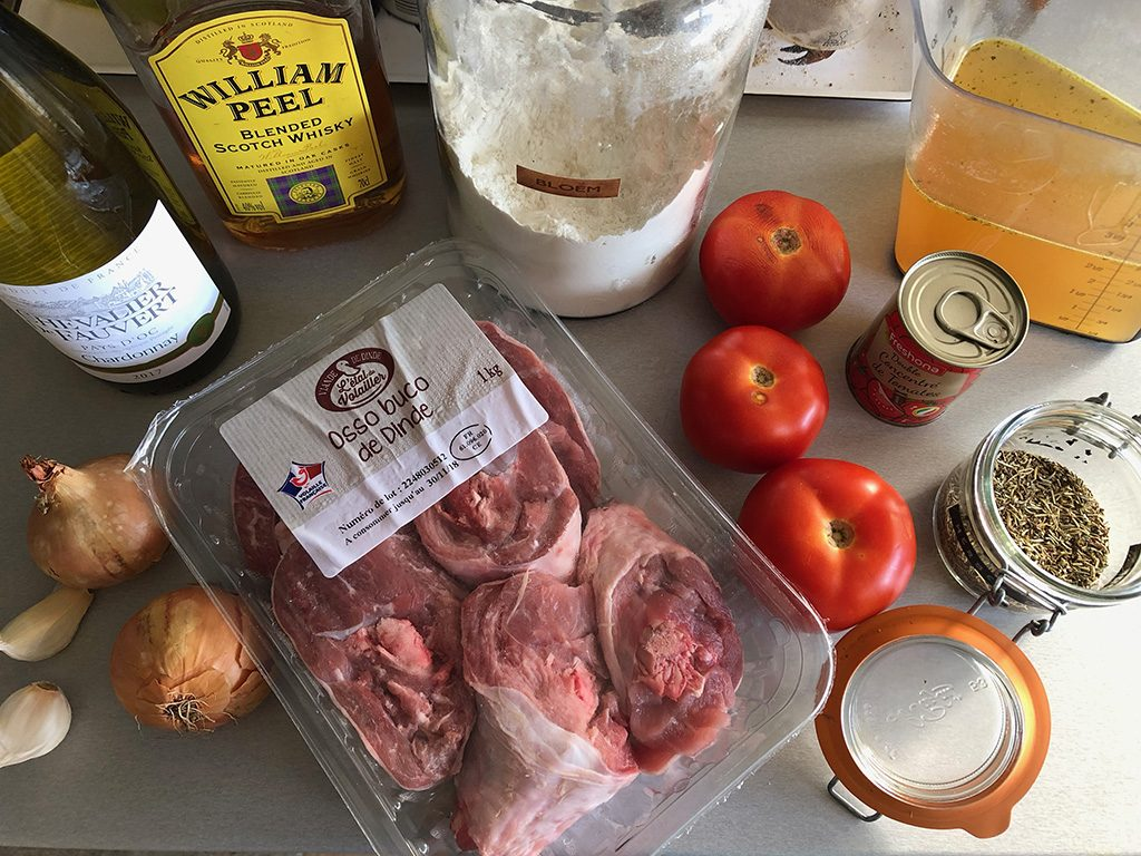 Turkey osso buco ingredients 1024x768 - Turkey osso buco