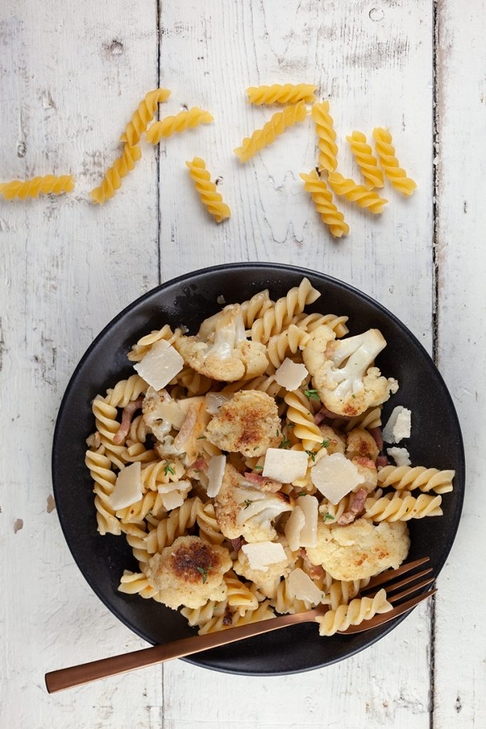 Caramelised cauliflower pasta 2 683x1024 - Caramelised cauliflower pasta