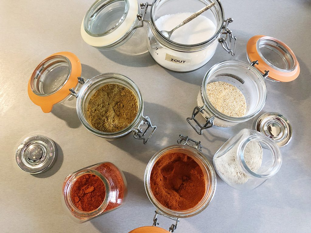 How to make Mexican spice mix ingredients