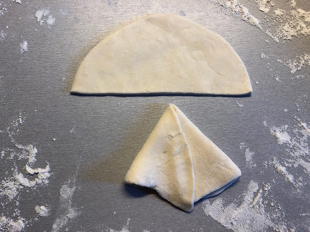 Making samosas 3