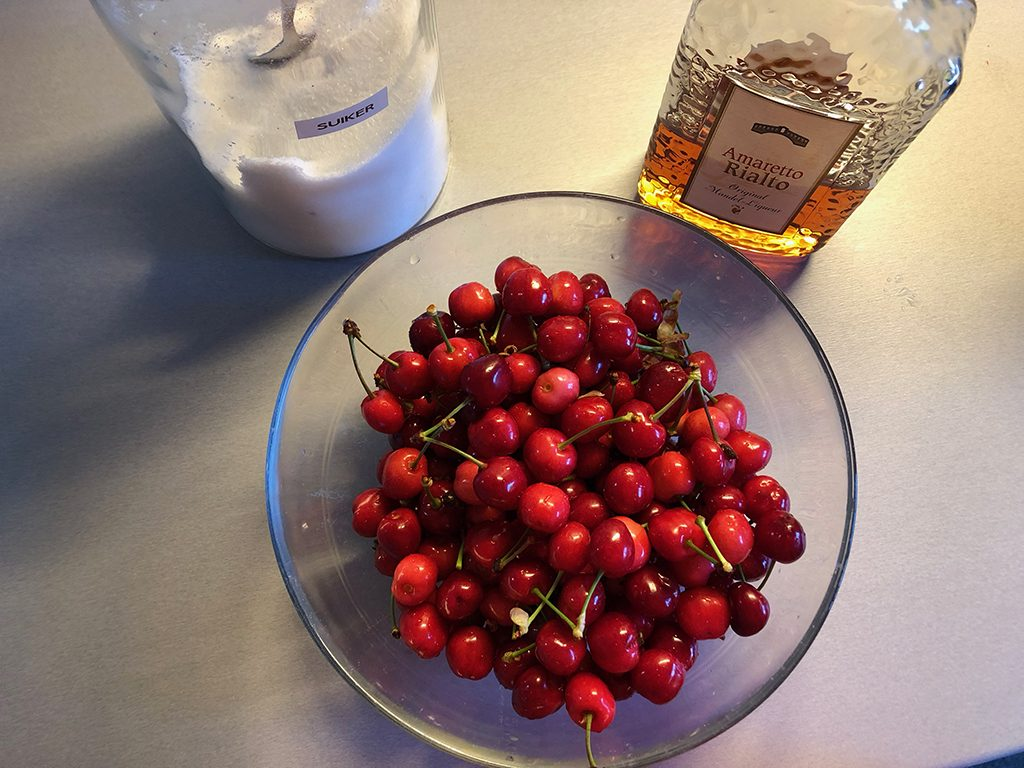Amarena cherries ingredients