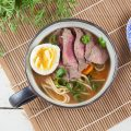 Beef and egg noodle soup 120x120 - Stir-fried tamarind beef