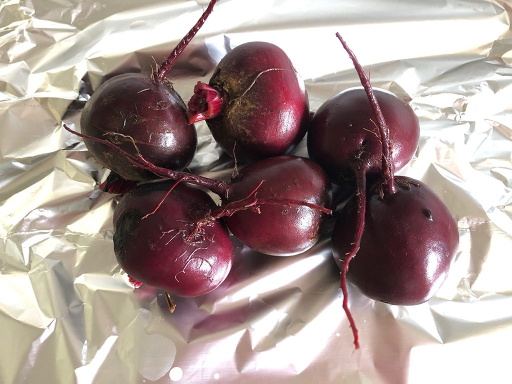 Roasted red beets ingredients