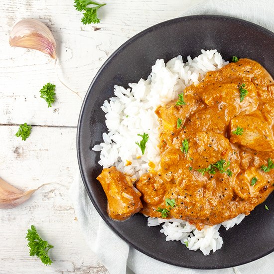 Chicken tikka masala square - Chicken tikka masala