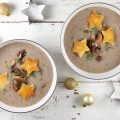 Creamy mushroom and truffle soup 120x120 - Chervil soup with croutons