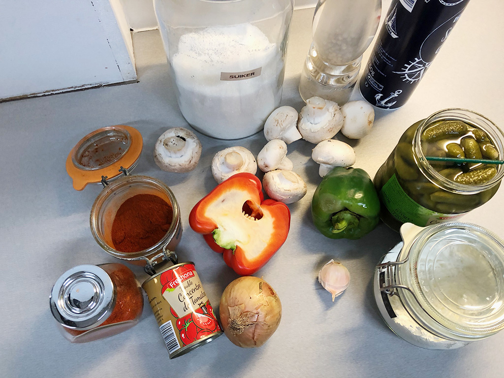 German gipsy sauce ingredients - German gipsy sauce