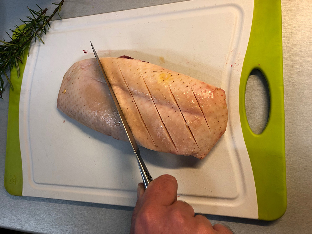 How to cook duck breast stap 5 - How to cook duck breast?