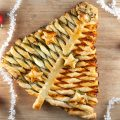 Puff pastry Christmas tree 120x120 - Pesto and cheese puff pastry pinwheels