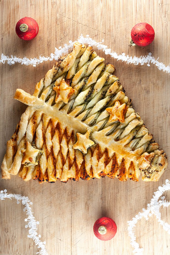 Puff pastry Christmas tree 2 683x1024 - Puff pastry Christmas tree