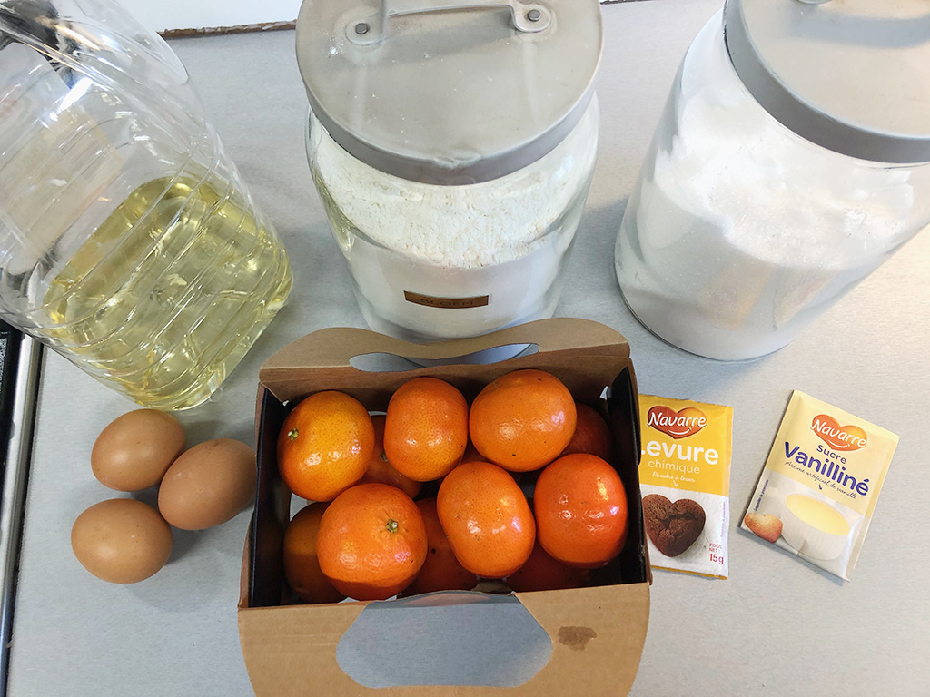 Clementine pie ingredients - Clementine pie