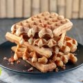 Crispy bacon waffles 120x120 - Waffles with red fruits
