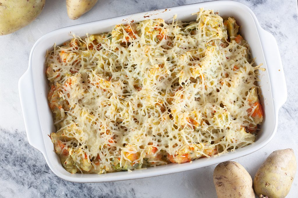 Dutch hutspot casserole