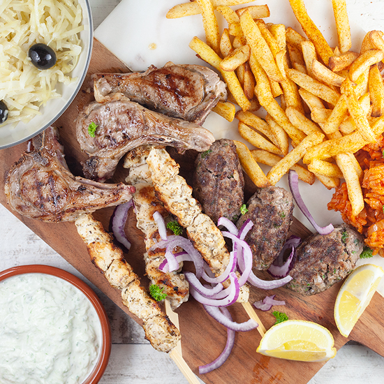 Greek mixed grill