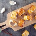 Mini pigs in a blanket 120x120 - Mini pineapple quiches