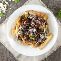Beef stew poutine 120x120 - Belgian beef and beer stew