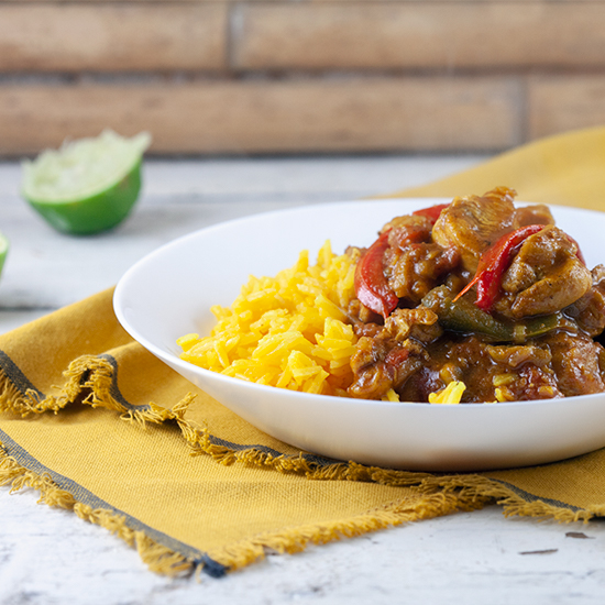 Chicken jalfrezi square - Chicken jalfrezi