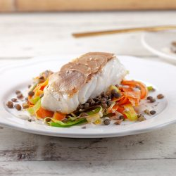 Cod with vegetable stir fry 250x250 - Latest recipes