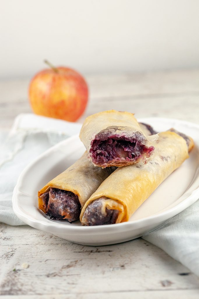 Mini red cabbage strudel 2 683x1024 - Mini red cabbage strudel