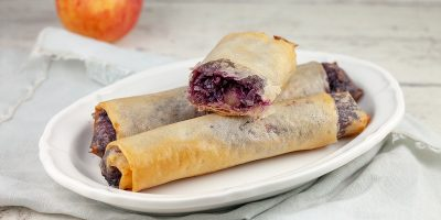 Mini red cabbage strudel 400x200 - Homepage