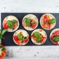 Vegetarian tortilla appetizers 120x120 - Fig and ham appetizers