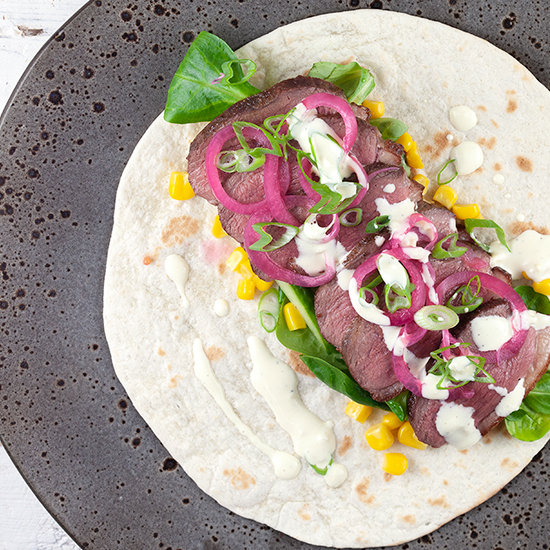 Duck tortillas