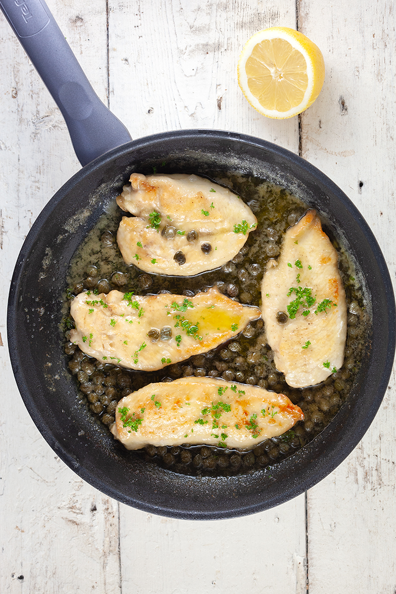 Chicken piccata 2 - Chicken piccata
