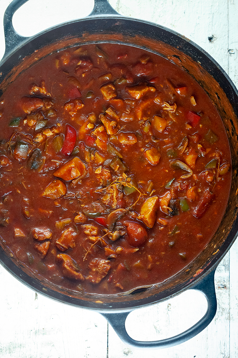 Chicken goulash 2 - Chicken goulash