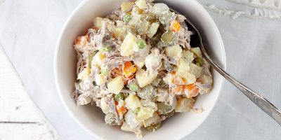 Dutch potato salad Huzarensalade 400x200 - Homepage