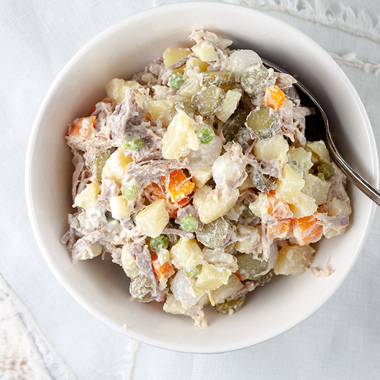 Dutch potato salad - Huzarensalade