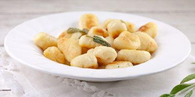 Gnocchi with sage butter 400x200 - Homepage