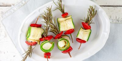Barbecue veggie kebabs with feta and rosemary 400x200 - Homepage
