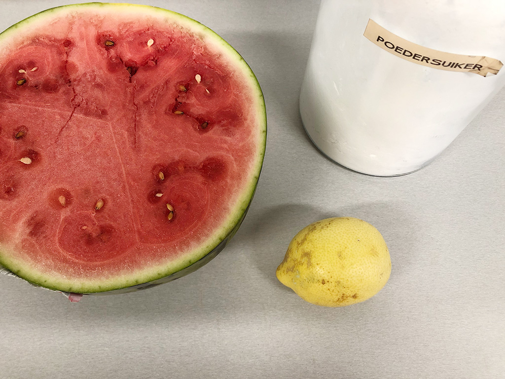 Watermelon sorbet ingredients - Watermelon sorbet