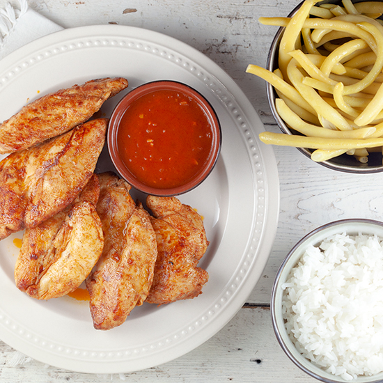 Piri piri chicken square - Piri piri chicken